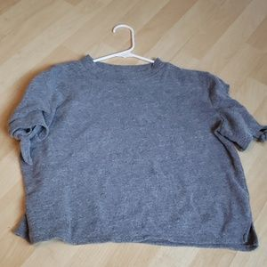 Alternative Apparel Sweater Crop Tee